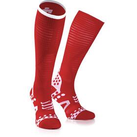Compressport Ultralight Racing Skarpetki do biegania Ironman Edition czerwony